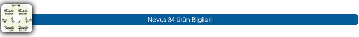 novus 34 ürün bilgileri