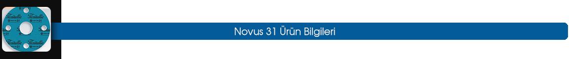 novus 31 ürün bilgileri